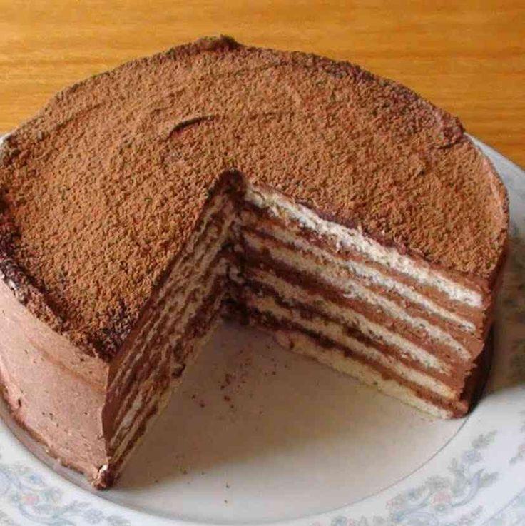 Stefánia torta – nagyon finom, és nem bonyolult elkészíteni