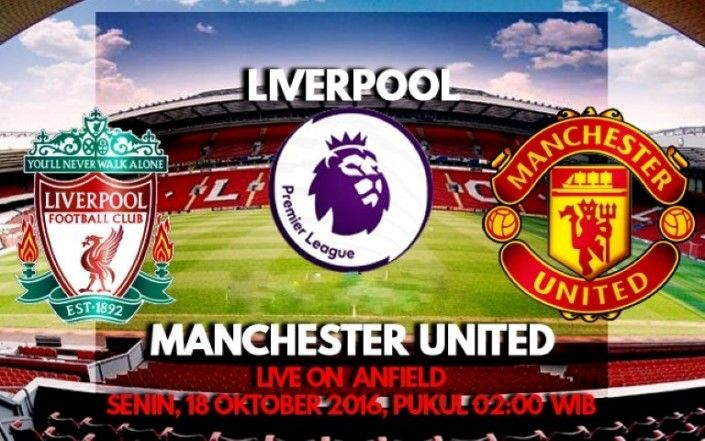 Prediksi Liverpool vs Manchester United Liga Inggris