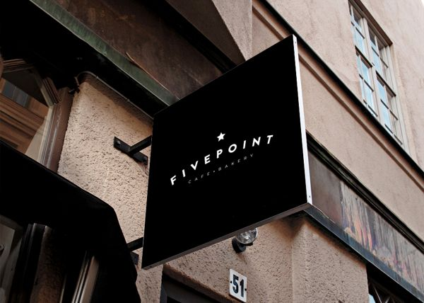 Fivepoint Cafe & Bakery by Matt Ivory, via Behance