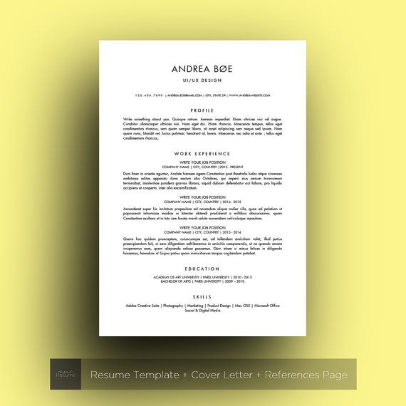 17 Microsoft Word Resume Templates You Can Download Free Word - best resume fonts