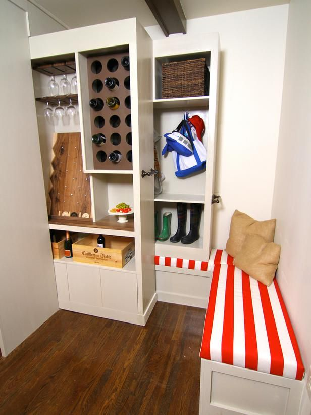 17 Best Images About Hidden Entryway Storage Sept On