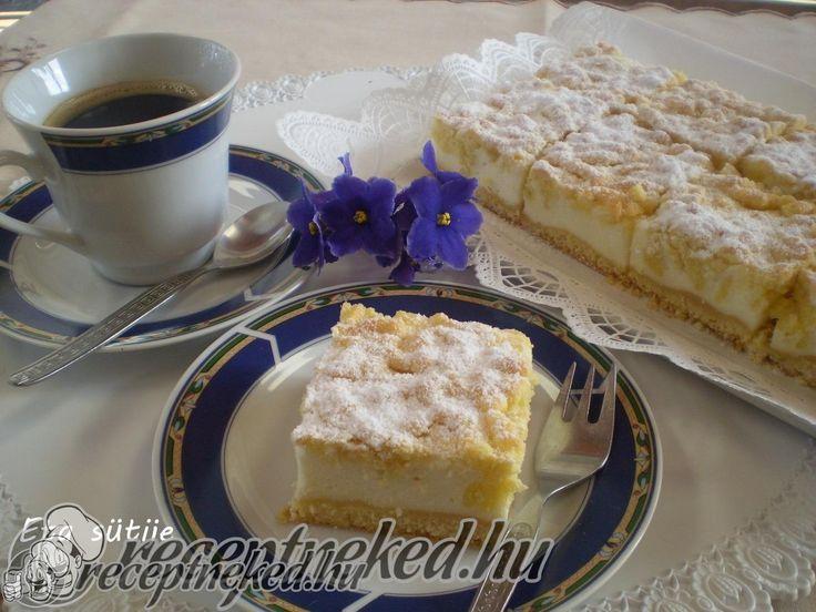 Hozzávalók: Atésztához: 400 gr finom liszt 1 sütőpor 150 gr porcukor 250 gr margarin 4 tojás sárgája 1 kk citrom reszelt héja 1 ek tejföl 7-8 dkg darált p