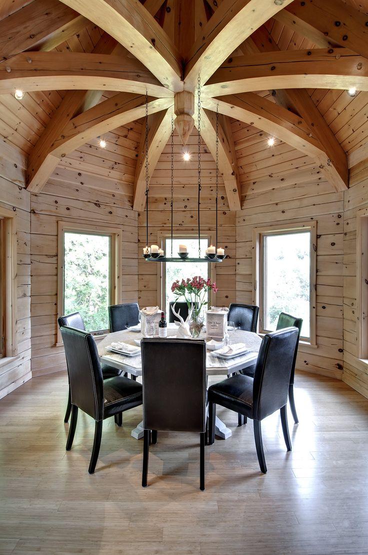 125 best interior inspiration images on pinterest log home log 1867 confederation log homes dzzzfo