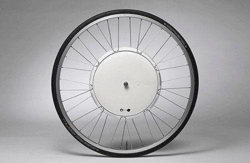 FlyKly : votre vélo devient électrique grâce à cette roue connectée - Aruco