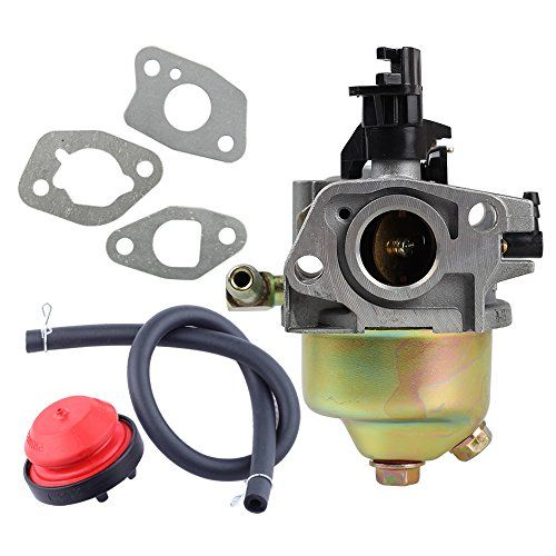 Savior Carburetor with Primer Bulb & Gaskets for MTD Cub Cadet Troy Bilt 951-10974,951-10974A,951-12705 951-14023A Lawn Mower  Carburetor / MTD Replace 951-10974,951-10974A,951-12705, 951-14023A, 951-11303A  Fit MTD Troybilt Cub Cadet snow blower engines  Package include 1pc carburetor + 3 pcs gaskets + 1 pc primer bulb + 1pc hose