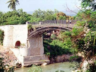 Old Iron Bridge, Spanish Town, Jamaica