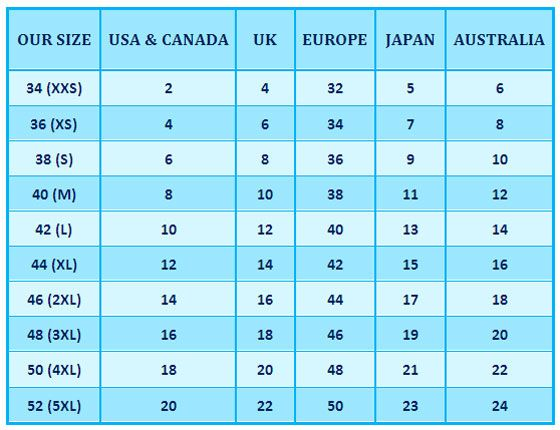 Uk u s and europe clothing size conversion table anglophile