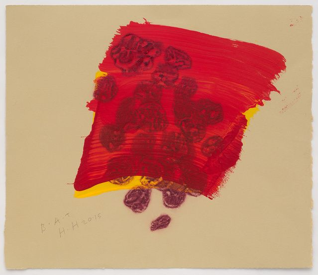 Howard Hodgkin   A Glass of Red (2015-2016)   Available for Sale   Artsy