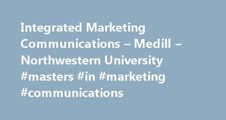Masters in marketing communication
