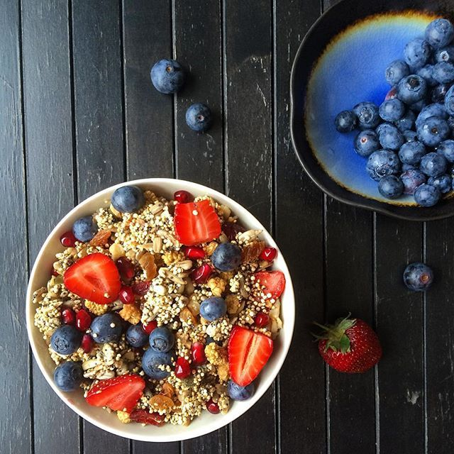 Crispy crunch gluten free granola Обалденно хрустящая гранола (без глютена)