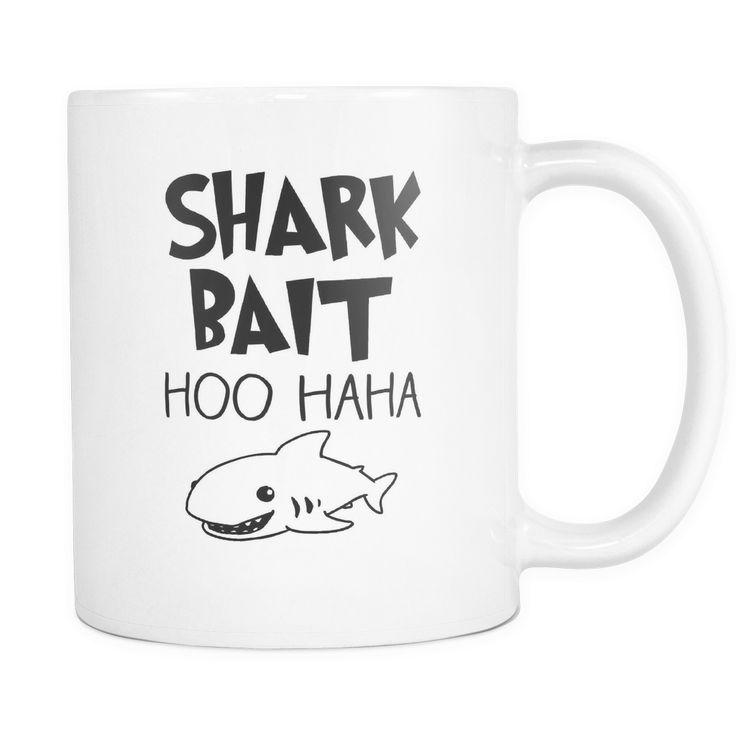 Shark Bait Coffee Mug, 11 Ounce