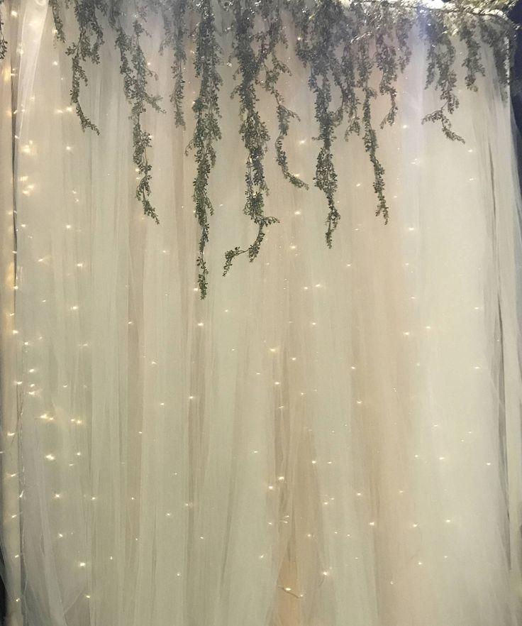 Tulle Wedding Altar: Best 25+ Tulle Backdrop Ideas On Pinterest