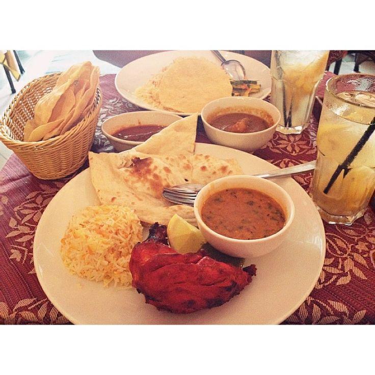 Indian cuisine at Beach Road.