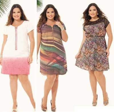 plus size curtos                                                       …