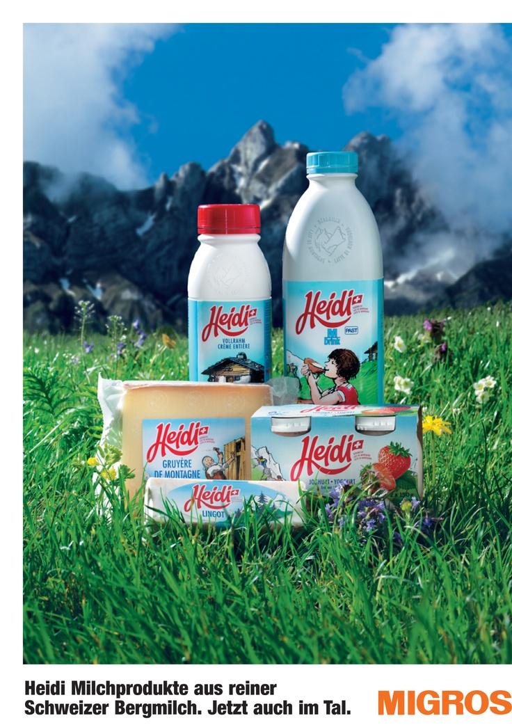 MIGROS Heidi, Switzerland¨  Packaging Design by Daniel Wermuth / wermuthgrafik ©2012  http://www.wermuthgrafik.ch