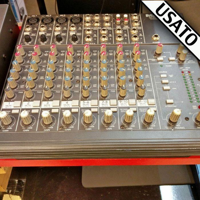Mixer Mackie Micro Series 1202-VLZ Usato