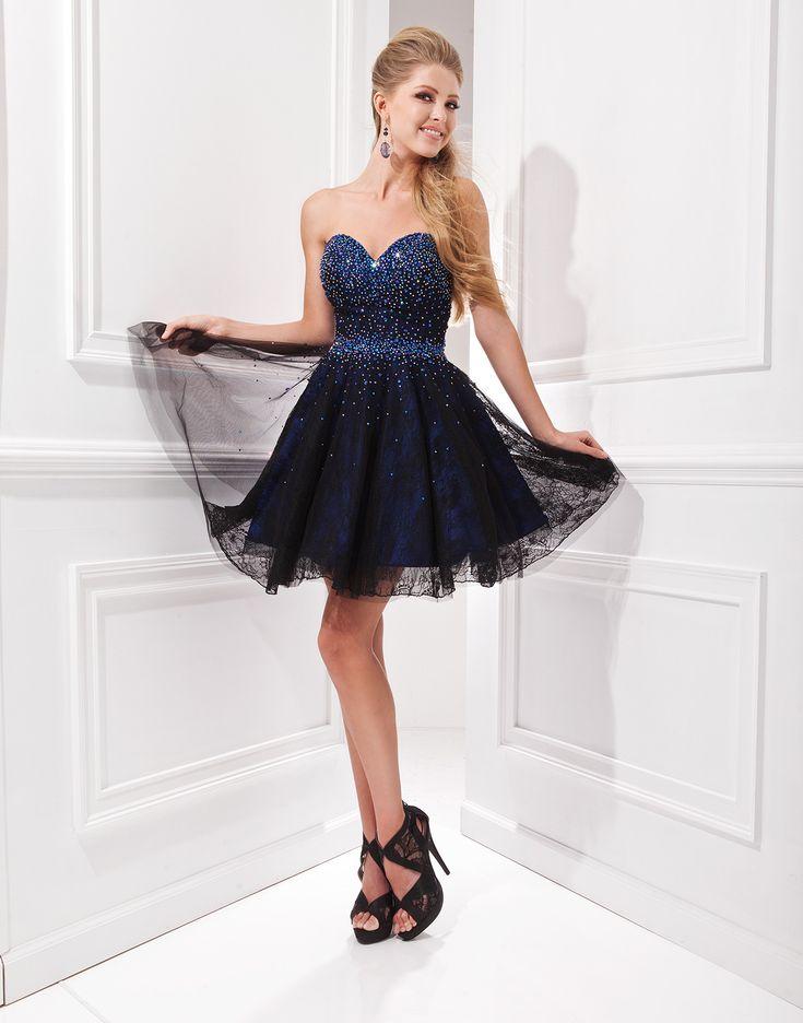 Vestido para debutante 15 anos azul escuro