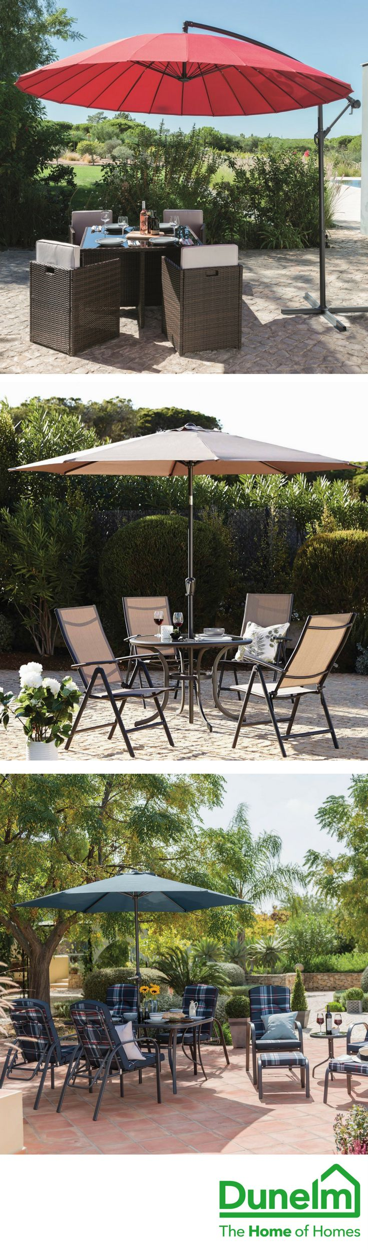 LIFE'S BETTER OUTDOORS | Maximise the fun this summer with our wide range of garden furniture and accessories. From two piece bistro sets and urban outdoor lighting, to 11 piece dining sets and chimineas, you can make the most of your outdoor space, whatever its size!
