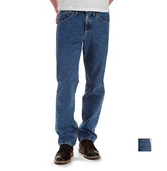 Lee® Men's Pepper Wash Big & Tall Straight-Fit Stretch Jeans