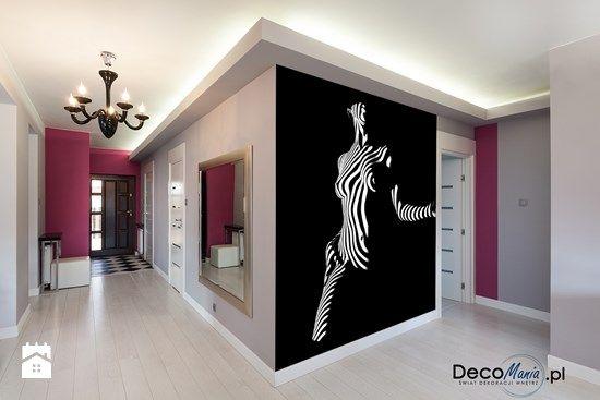 Kobieta zebra - zdjęcie od DecoMania.pl