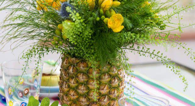 Un vase en ananasLa bonne id