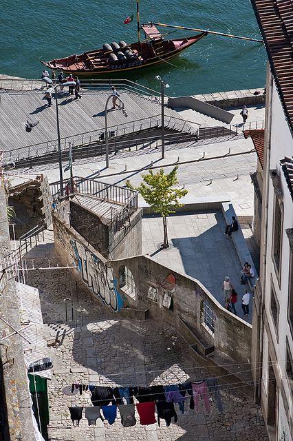 Old Porto riverbanks - Portugal