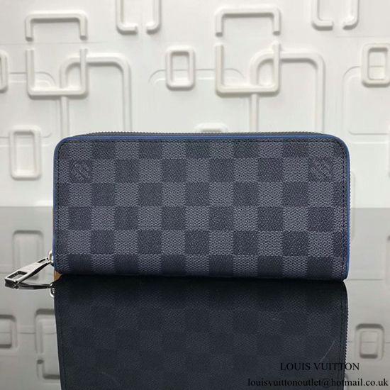 96c8dc97219f Louis Vuitton Zippy Wallet Vertical N63305 Damier Graphite Canvas ...