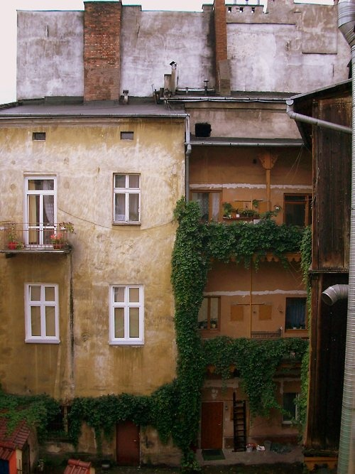 building in Krakow, Poland