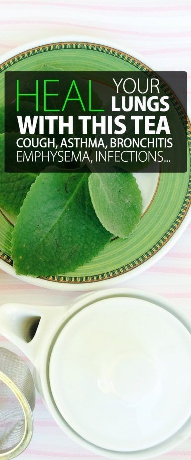 Heal your lungs with this tea