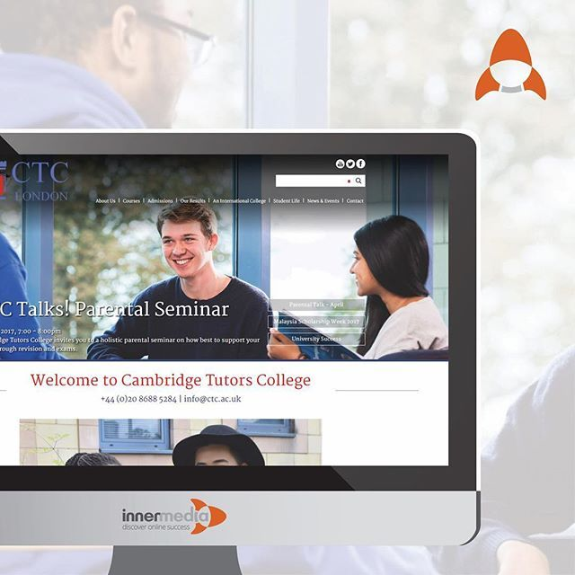 """""""The mature, yet simple website for Cambridge Tutors College showcases their destinations, achievements and courses to attract both international and local students.  #websitewednesday #websites #schoolwebsite #webdesign  #webdesignagency #websitedesign #digitalmarketing #marketing #marketingagency #digitalmarketingagency #seo #ppc #onlinemarketing #sixthform #college #awardwinning #whatwedo"""" by @innermediauk. #sem #communitymanager #redessociales #website #web #google #salesfunnel…"""