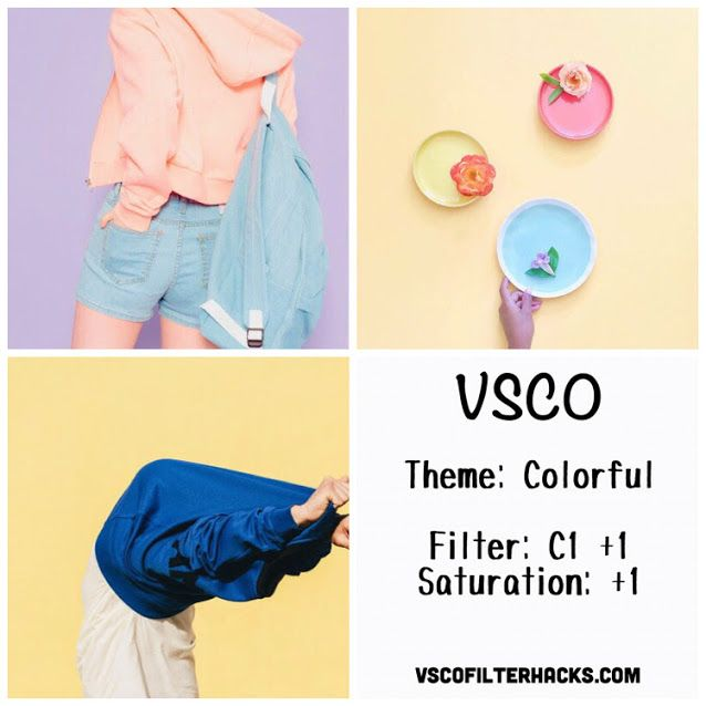 Colorful Instagram Feed Using VSCO Filter C1                                                                                                                                                                                 More