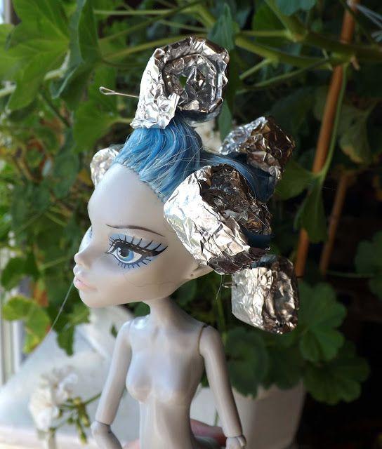 """Авторские вязаные вещи от Леаны Коноваловой: Мастер-класс """"Как я реанимировала волосы кукле"""""""