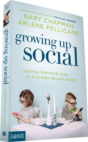 Starting this book today! Growing Up Social by Gary Chapman #parenting