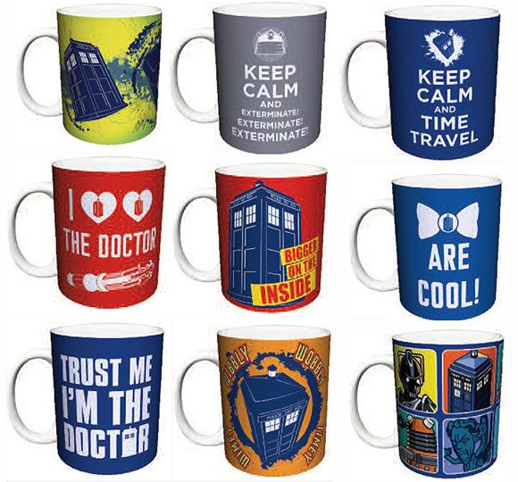 Doctor Who 11 oz Ceramic Coffee / Tea Mugs (USA)