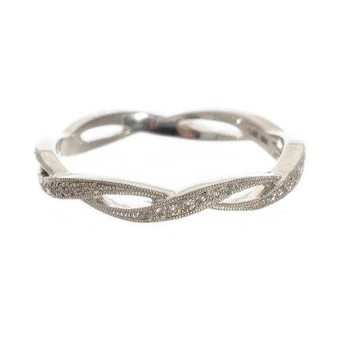 Greenwich Jewelers | Products | Category | Rings | Wedding Bands | Beverley K Infinity Diamond Band