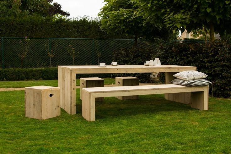 17+ best ideas about Gartentisch Rund Holz on Pinterest