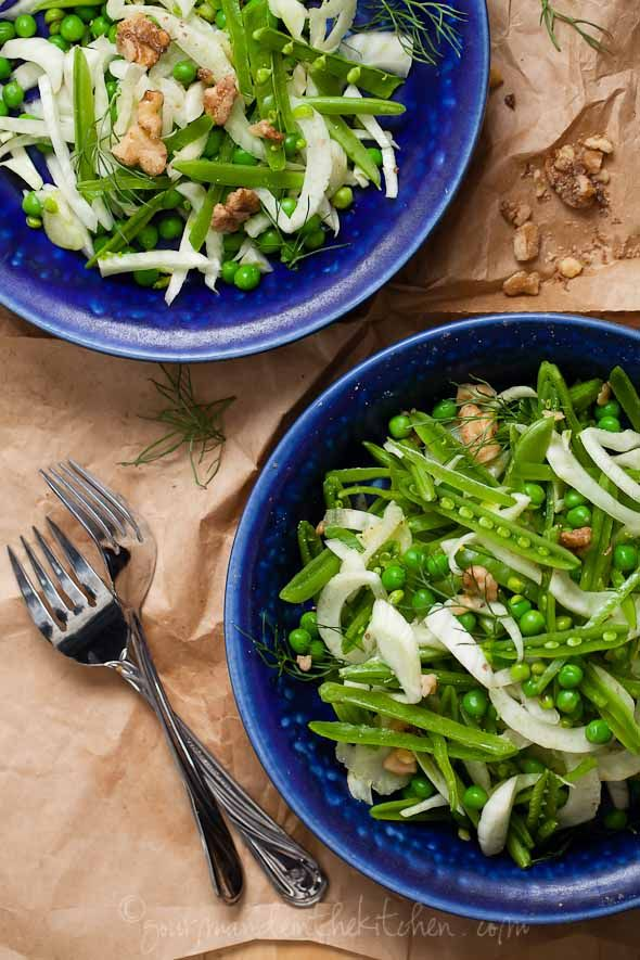 Fennel And Apple Salad With Toasted Fennel Vinaigrette Recipe ...