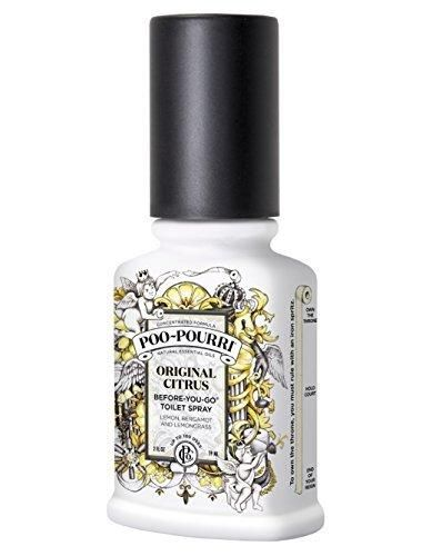 Poo-Pourri Before-You-Go Toilet Spray 2-Ounce Bottle Original Citrus Scent