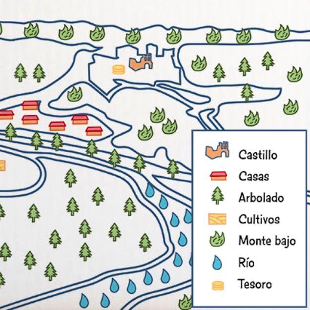 Aprende A Representar El Territorio Cartografia Cartograficos Mapa Topografico