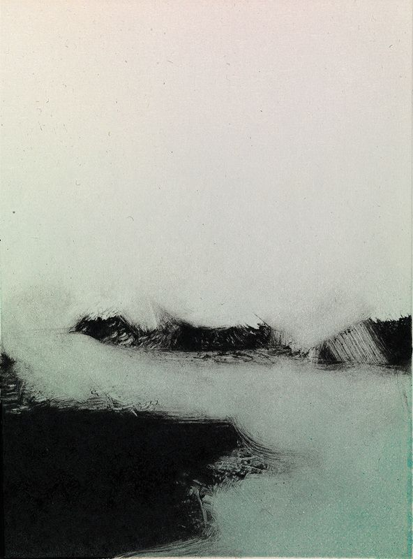 Tekla McInerney's Monotypes Are Striking Prints Of A Wild Landscape