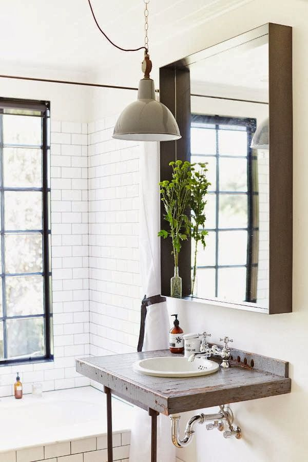 Industrial decor style is perfect for any interior an for Bathroom ideas industrial
