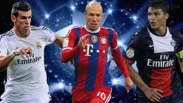 La Champions League es el mejor torneo de clubes del mundo y por estos días se van disputando los partidos de vuelta de los octavos de final. Algunos sufriendo, como el Real Madrid, y otros dando un espectáculo ante sus rivales, como el Bayern Munich. March 18, 2015.