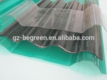 Corrugated Transparent Plastic Polycarbonate Sheets   Buy Plastic Roofing  Panel,Transparent Roof Tile,Fiberglass Roofing Sheets Product On Alibaba.com