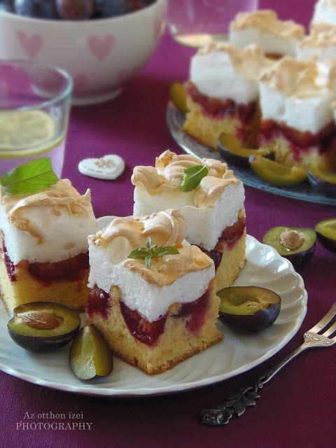 Az otthon ízei: Habos szilvás sütemény