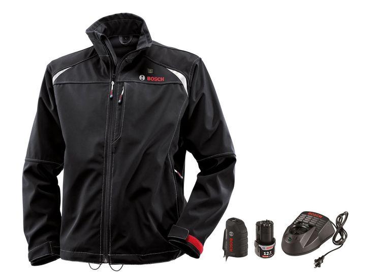 Bosch PSJ120L-102 Men's 12V Max Heated Jacket Large Cordless Kit