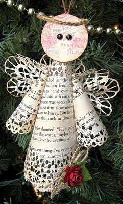 DIY:: Vintage Angels Ornaments