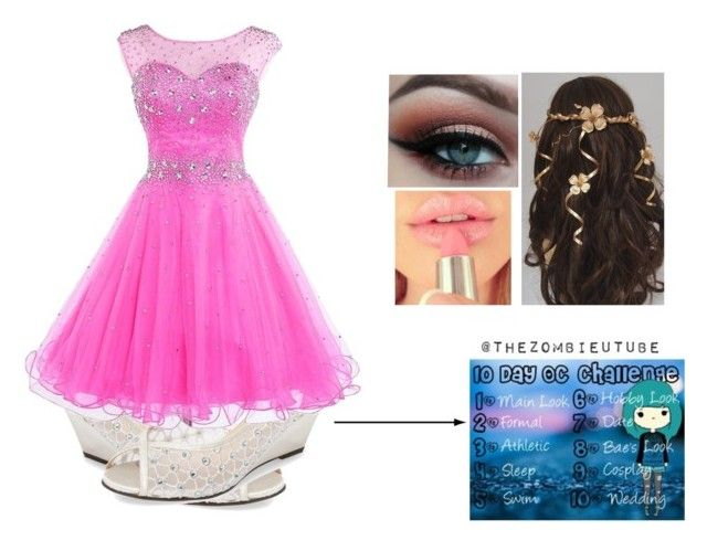 """""""10 Day OC Challenge: Day 2: Formal"""" by sidneykmail-1 ❤ liked on Polyvore featuring Pink Paradox London"""