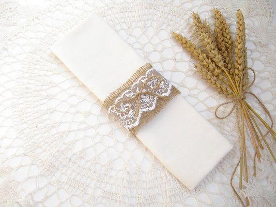 Best 10 Wedding napkin rings ideas on Pinterest Elegant table