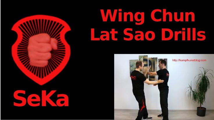 Wing Chun Lat Sao Drills (Trainingseinblick)