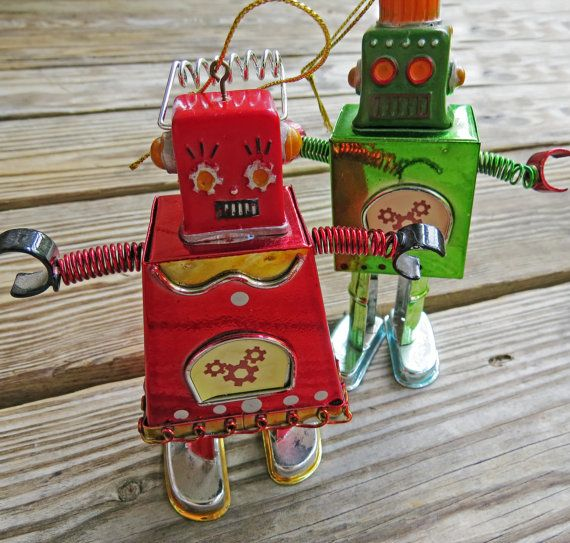 151 best Robot Christmas tree images on Pinterest | Robots ...